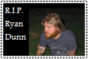 R.I.P. Ryan Dunn Stamp by Hunter-Arkaman