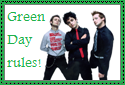 Green Day Stamp by Hunter-Arkaman