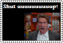 Arnold Shut Up Stamp by Hunter-Arkaman