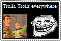 Trolls Everywhere Stamp by Hunter-Arkaman