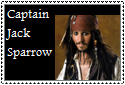 Capt. Jack Sparrow Stamp by Hunter-Arkaman