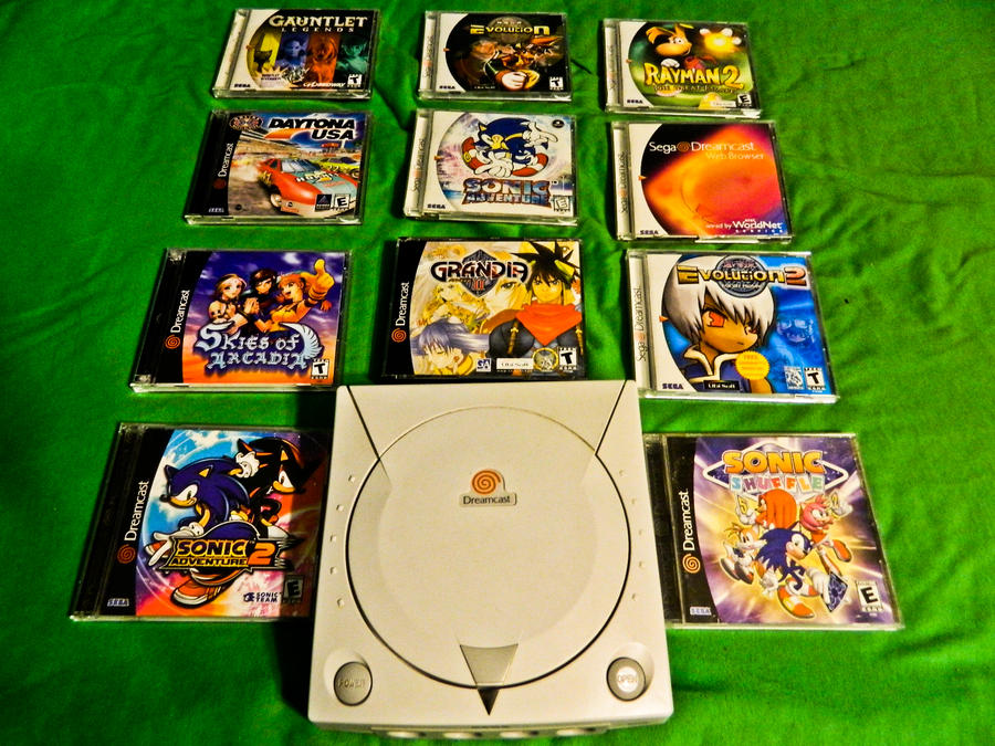 Sonic cartridge collection for Sega Megadrive