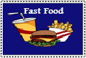 Fast Food Stamp by Hunter-Arkaman