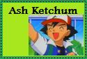 Ash Ketchum Stamp by Hunter-Arkaman