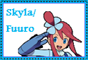 Skyla-Fuuro Stamp by Hunter-Arkaman