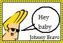 Johnny Bravo Stamp
