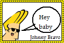 Johnny Bravo Stamp by Hunter-Arkaman