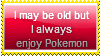 I Always Enjoy Pokemon Stamp by Hunter-Arkaman
