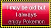I Always Enjoy Pokemon Stamp by Hunter-Arkaman
