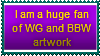 WG and BBW Stamp by Hunter-Arkaman