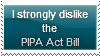 Anti-PIPA Act Bill Stamp by Hunter-Arkaman