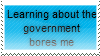 Boring Government Stamp by Hunter-Arkaman