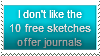 Anti-Free Sketches Stamp by Hunter-Arkaman