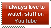 YouTube Stamp by Hunter-Arkaman