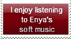 Enya's Music Stamp by Hunter-Arkaman
