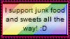 Support Junk Food Stamp by Hunter-Arkaman