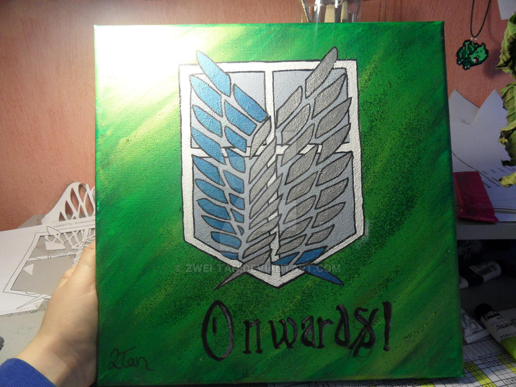 Scouting Legion - Canvas Painting
