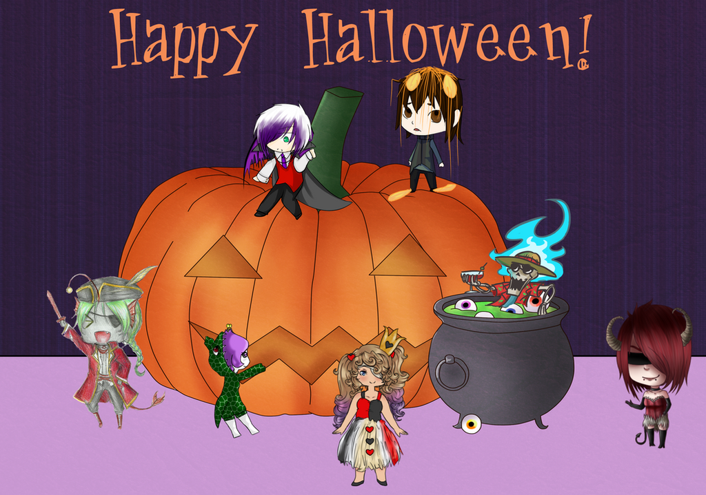 HM: Happy Halloween [Tiny Tower Collab] by Zwei-tan
