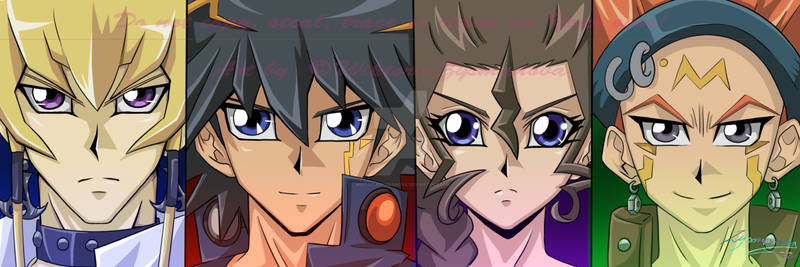 Yu-Gi-Oh! 5Ds (Twitter Cover)