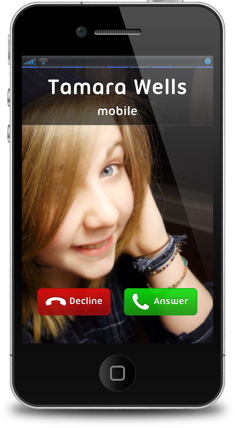 how to find incoming call location in iphone