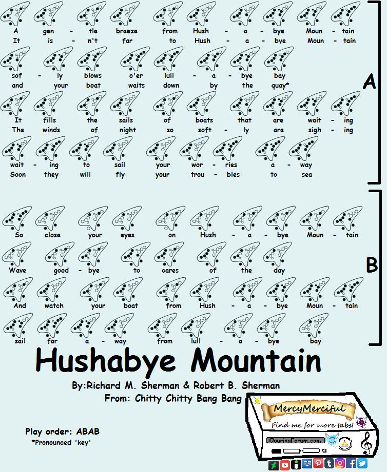 hushabye mountain mp3 download free