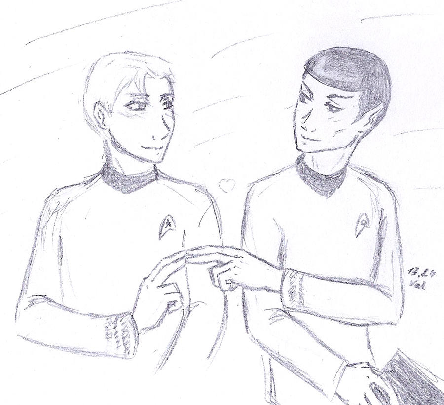 Vulcan kiss by sparklingblue