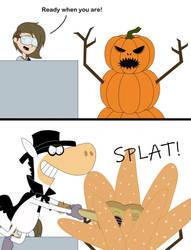 Jellystone!-tober Day 16/17 - Pumpkins/Kabonnng!