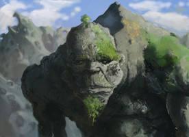 Rock Biter by JaredSalmond