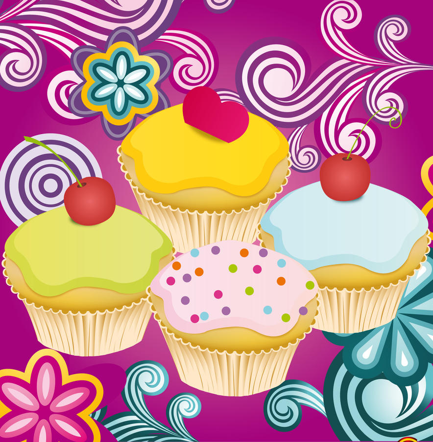 1000 Images About Cupcake Clip Art On Pinterest