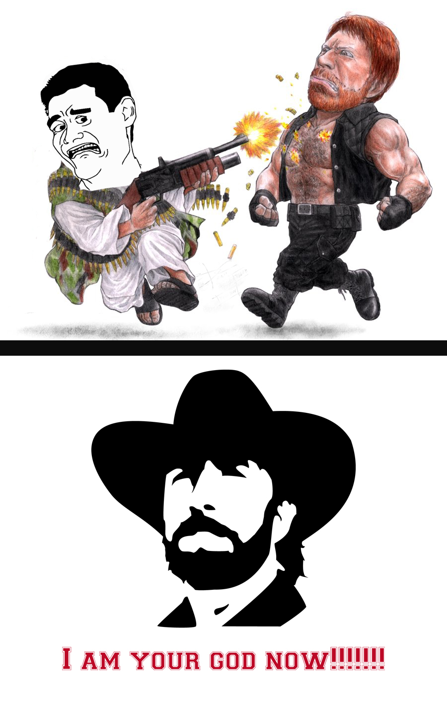 chuck_norris_and_yao_ming_meme_by_gth089 d4lnff5 chuck norris and yao ming meme by gth089 on deviantart,Yao Ming Meme Png