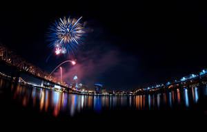 Cincinnati Fireworks by SarahVlad