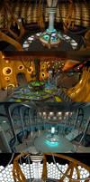 TARDIS interior showdown