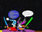 Mickey Mouse vs Bugs Bunny