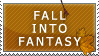 Stamp: Fall Into Fantasy by pyerflystock