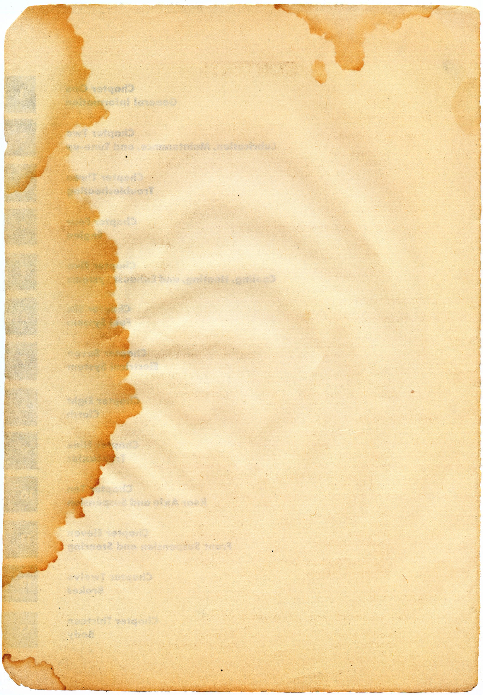 Oil Stain