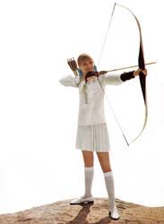 Bow and Arrow by pandoraicons