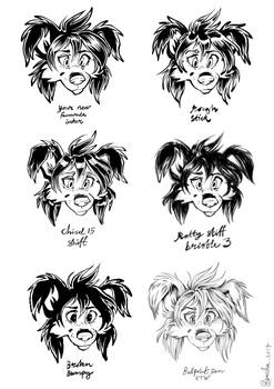 Ink style chart