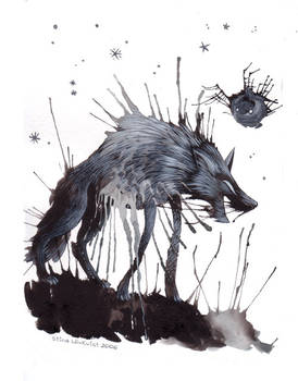 And the wolf burst