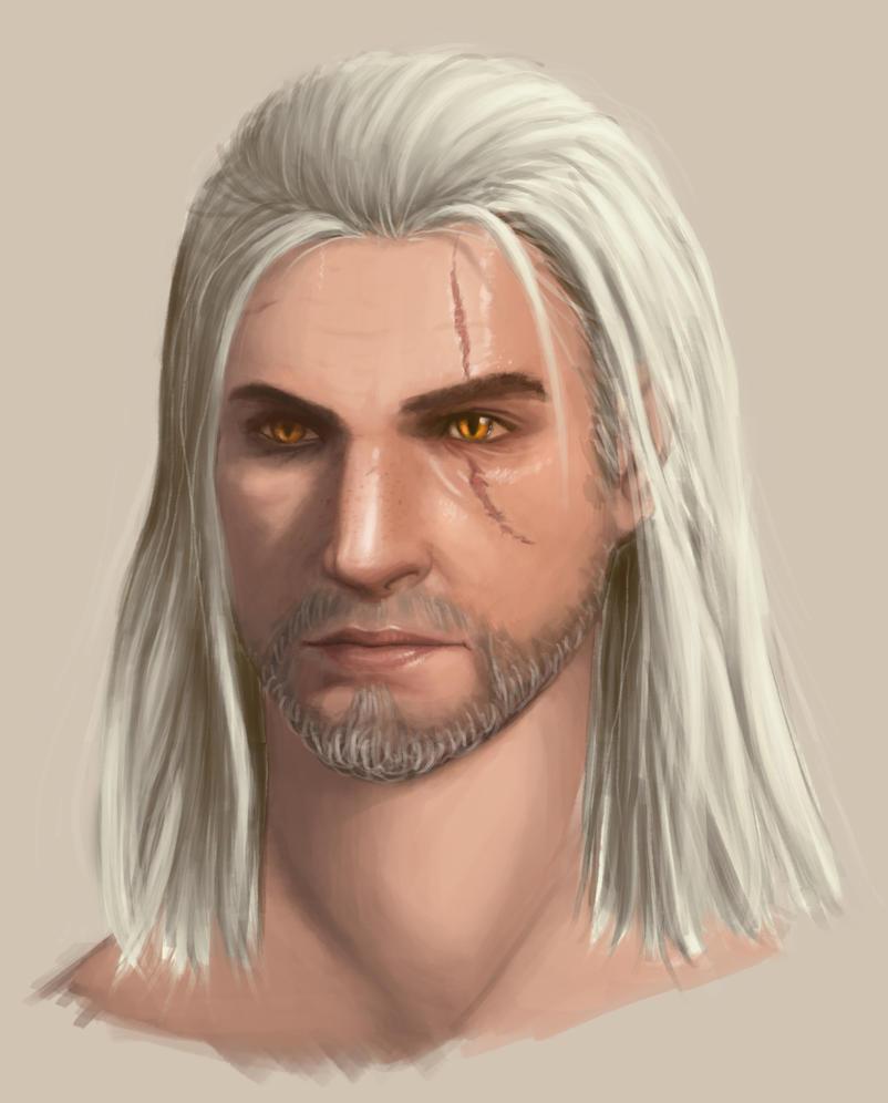 Geralt by Ermyan