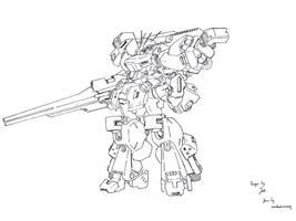 Burst Gundam Concept by dlredscorpion