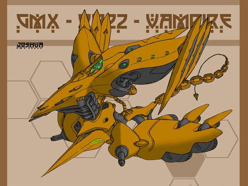 GMX - 0022 - Vampire- by dlredscorpion