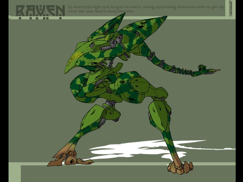MW Raven Remixed by dlredscorpion