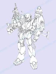 MS-16 -J- Gavan FAS by dlredscorpion