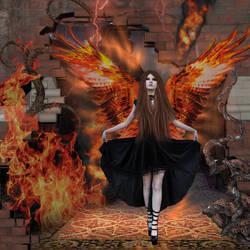 Fire labyrinth