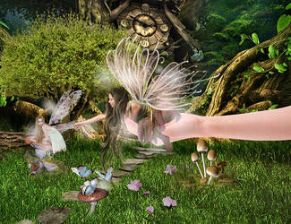 Forest fairies by MariamShades