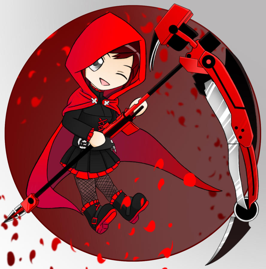 Chibi Ruby final color by ALEXACEDEATH