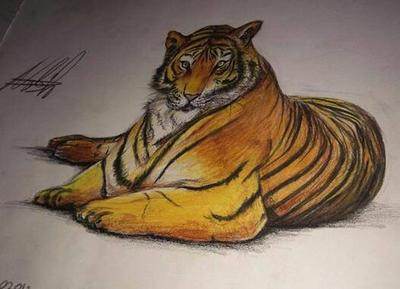 lion art by NadzIro