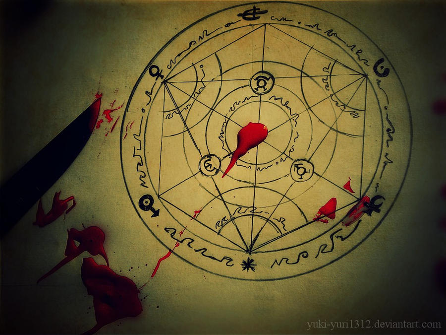 Transmutation circle by Yuki-yuri1312