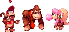DK, Diddy and Dixie