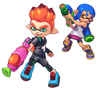 Splatoon 2 - Inklings by Dvor-ak